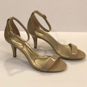 """Bandolino Natural Patent Madia 3"""" Heels Size 6.5"""